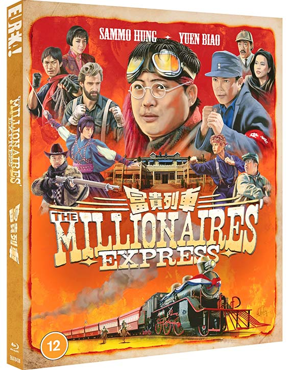 The Millionaires Express -Blu-ray - OUT 26TH JULY 2021 - KUNG FU KINGDOM