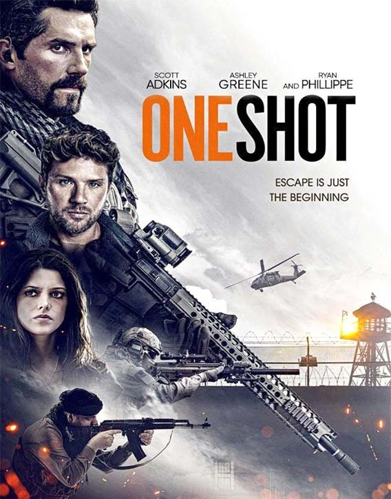 Coming this fall - watch out for the single take action movie One Shot!