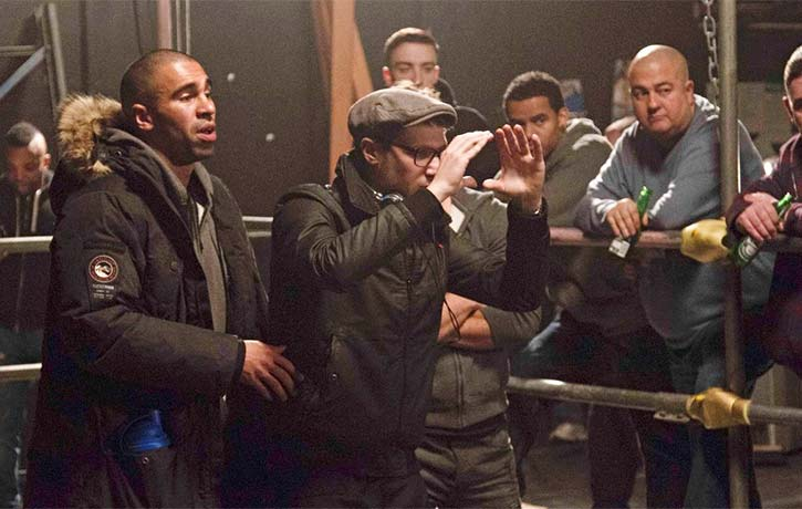 James and Joey Ansah orchestrate a fight scene in Green Street 3