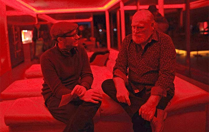 James goes through the next scene with James Cosmo on Eliminators