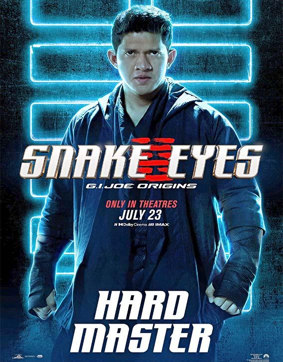 The Raids Iko Uwais plays Hard Master in Snake Eyes