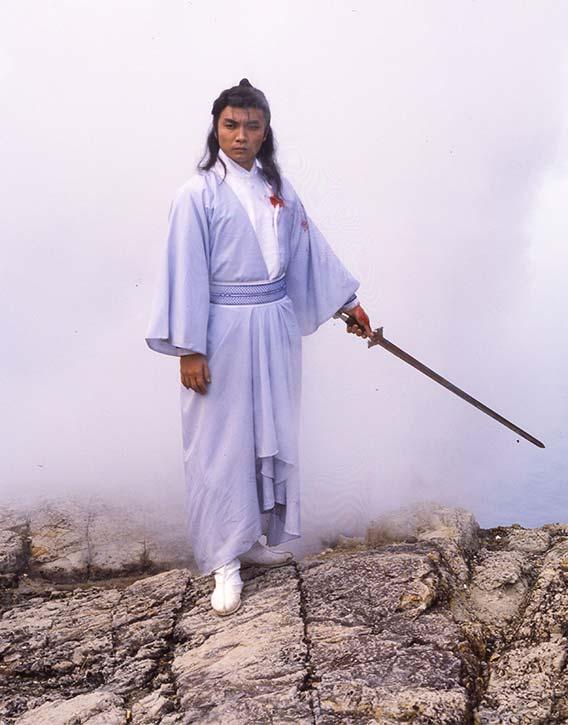 Classic wuxia swordplay