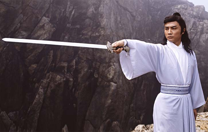 Damian Lau stars as Bo Ching wan known as Lord of the Sword