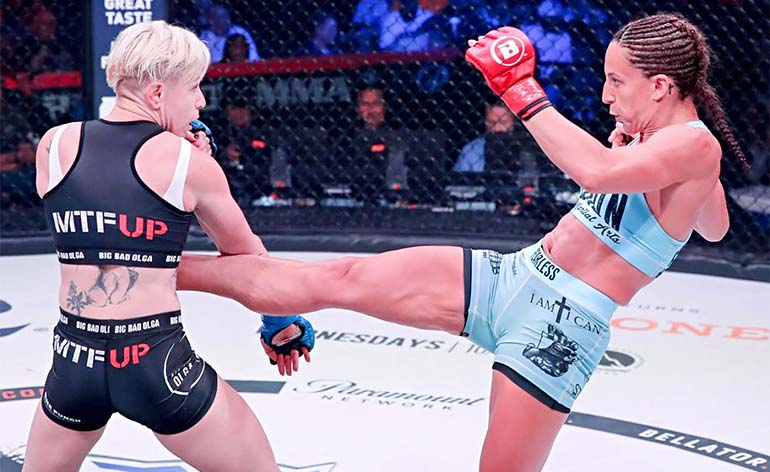 Julia Budd -Top 5 MMA Finishes - KUNG FU KINGDOM
