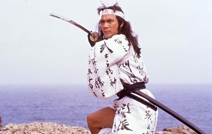 Norman Chui Siu keung stars as Hashimoto a highly skilled samurai swordsman