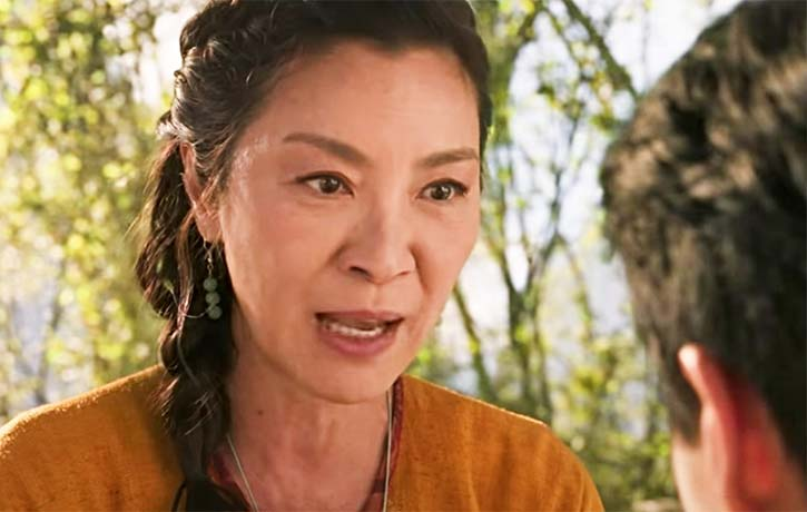 Yi Nan gives Shang Chi advice for the battle ahead