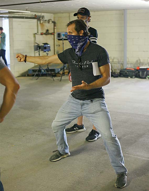 Josh fine tunes Street Fighters big action scene