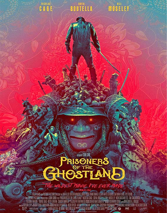 Prisoners of the Ghostland now in theaters and on VOD!