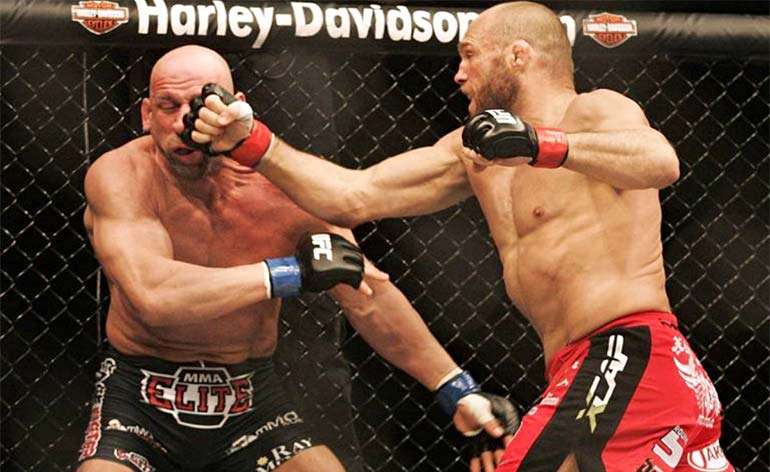 Randy Couture -Top 5 MMA Finishes - KUNG FU KINGDOM