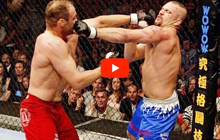 Randy Couture vs Chuck Liddell