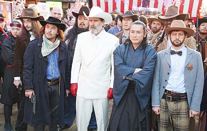 The Governor and his entourage enforce their reign