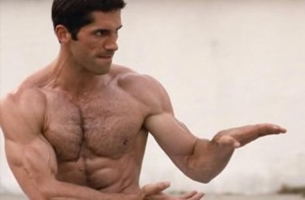 Ninja train fight with Scott Adkins
