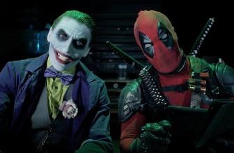 The Joker and Harley Quinn vs Deadpool and Domino!