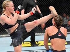 """Valentina """"Bullet"""" Shevchenko: Top 5 MMA Finishes"""