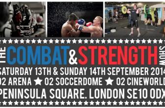 SENI Combat and Strength show event list!